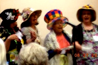 BAD Grannies at Show And Tell