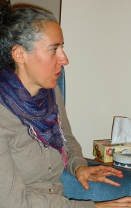 Dr. May Chazan, Trent University, conducting group interview for her project on older women in activism